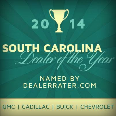 South Carolina Dealer of the Year