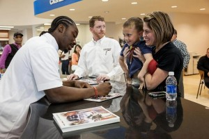 Marcus Lattimore at Bradshaw Automotive
